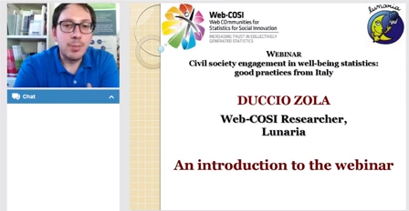 Web-COSI Webinar hosted by Lunaria
